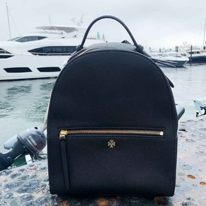 Tory Burch Black Emerson Backpack